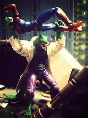 The Lizard (Dr. Curtis Connors) (chevy2who) Tags: action spiderman lizard peter marvel universe figures parker connors 118 334 curits uploaded:by=flickrmobile flickriosapp:filter=mammoth mammothfilter