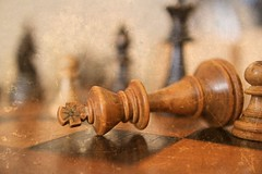White Resigns (josephburden58) Tags: chess chessmen staunton king stilllife canoneosm