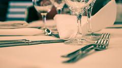 Tischkultur (pyrolim) Tags: tisch besteck glser servietten tischkultur