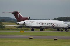 M-FTOH Boeing 727 Kemble 9/7/16 (David K- IOM Pics) Tags: m manx reg mftoh boeing 727 kemble cotswold airport