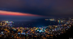Jounieh bay sunset, Lebanon (Salim El Khoury) Tags: city longexposure nightphotography lebanon tourism night contrast landscape landscapes lowlight nikon cityscape nightscape cityscapes destination nightscapes jounieh longexpo jouniehbay d7200