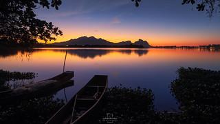 Sunrise @Camorim Lake, Rio de Janeiro, Brazil