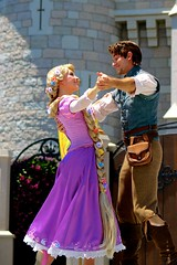(jordanhall81) Tags: rapunzel blondie flynn rider tangled friendship faire mickeys royal mouse mickey cinderella castle stage show live entertainment dance performer look alike character magic kingdom mk wdw walt disney world resort theme park amusement lake buena vista lbv orlando florida