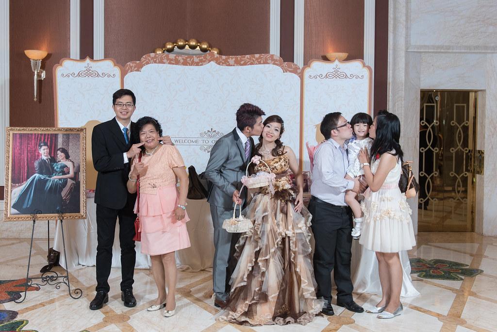 中僑花園飯店婚禮記錄雅琇與紋瑞-118