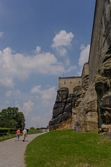 Knigstein - Wall from Down (timohannukkala) Tags: fortress knigstein wall sachsen germany de