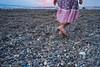 A Summer To Remember (1973-pinball) Tags: fujifilm xe2 cosina voigtlander colorskopar25mmf4p summer beach girl child outdoor walking sunset