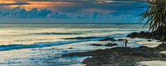froggy beach  gold  coast storm clouds (rod marshall) Tags: sunrise oceanclouds stormclouds froggybeach