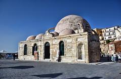 DSC_5646 Chania, Creta. Grecia (Giovanni Pilone) Tags: creta grecia chania  kphth crete greece allaperto edificio architettura moschea candia
