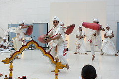 Mujali Island Monks (2016) 21 - dancers (KM's Live Music shots) Tags: worldmusic india mujaliislandmonks khol drums dancers britishmuseum