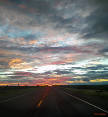 West Texas Sunset (New Deal Lions Sports and then some) Tags: sunset west texas blackberry sky
