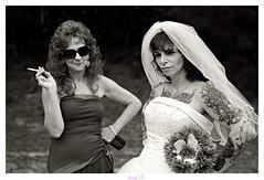 The Bride and her Mother (Studio d'Xavier) Tags: twistedink wedding bride motherofthebride bw