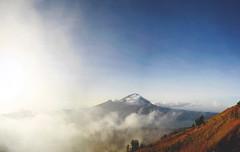 Mt. Batur Summit (kev_tran15) Tags: bali indonesia travel vacation hiking mountain batur mountbatur landscape clouds sunrise