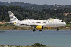 EC-LOC - 2011 build Airbus A320-214, on approach to Runway 35 at Corfu (egcc) Tags: 4855 a320 a320214 airbus cfu corfu ecloc ioanniskapodistrias kanoni kerkyra lgkr lightroom vlg vy vueling vuelingairlines vuelingonheavensdoor vuelingcom