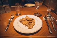 Fried Chicken (reubenteo) Tags: northkorea dprk food lunch dinner steamboat kimjongun kimjongil kimilsung korea asia delicacies