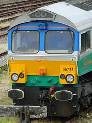 66711_07 (Transrail) Tags: class66 emd shed diesel locomotive coco gbrf tonbridge gbrailfreight 66711 aggregateindustries sence