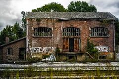 gare clabecq-3 (Emile Kympers) Tags: abandonnedstation gareclabecq neutraldensity oldstation