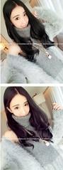 alu_27 (Homair) Tags: angora fuzzy fluffy sweater dress tneck