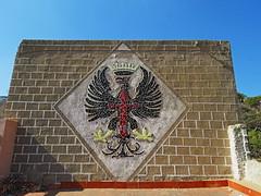 Escudo_EjercitoTierra_Cartagena (cevagar) Tags: baterias cartagena escudo ejercito de tierra santiago