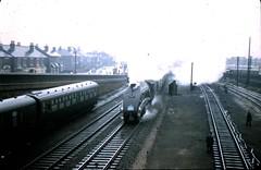 Eastleigh 1966 (unravelled) Tags: 19660324 60024 eastleigh