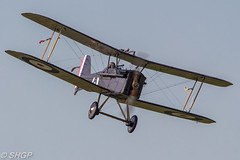 SE.5A - Old Warden Season Premiere Airshow 2016 (harrison-green) Tags: old warden season premiere airshow shuttleworth collection air display show aircraft aviation world war 2 fighter plane canon 700d sigma 150500mm lulu belle bell vehicle airplane outdoor red arrows raf roysl force magister ryan pt22 tiger moth blackburn b2 trainer biplane fiesler storch lysander westland t6 texan harvard hurricane hawker hind gloster gladiator jet autogyro gyrocopter helicopter bristol f2b one 1 se5a