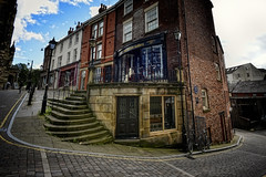 Around the corner (JEFF CARR IMAGES) Tags: northwestengland wideangle d200 cityscapes streets streetcorner