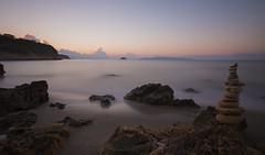Sunrise at Helis Beach, Kefalonia (Chris Bainbridge1) Tags: helis beach kefalonia greece long exposure sunrise svoronata lll