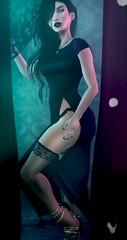 I don't care if it hurts, I wanna have control (Cassandra Middles) Tags: fashion secondlife sl iheartsl blog villena moon anybody reign luxebox luxe box luxeboxlady milk tea milktea wholre couture half deer halfdeer veechi letre kibitz portrait model mesh blogging blogger music show performance