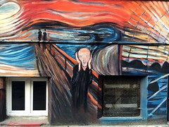 Wrocaw, 2016. (difficiles) Tags: street art city scream krzyk edvard munch painting