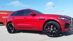 Jaguar F-Pace S AWD (Michel Curi) Tags: tampa tampabay davisisland fl florida lovefl dupontregistry carsandcoffee peterknightairport red jaguar fpace cars auto automobile coches vehculos vehicle automvil carros car voiture automobiel transportation transport exotics