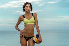 DSC07526 (Tjien) Tags: beach volleyball summer 2016 bfg swimsuit portrait outdoorportrait