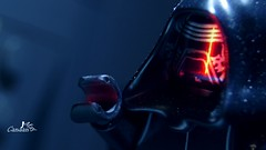 """""""You might want to rethink your technique"""" (Canaan May) Tags: lego star wars episode vii force awakens kylo ren first order knights dark side ben solo skywalker"""