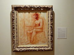 Seated Nude (knightbefore_99) Tags: pablo picasso exhibit vag vancouver art gallery muse painting famous city west coast cool french spain 1922 seated nude