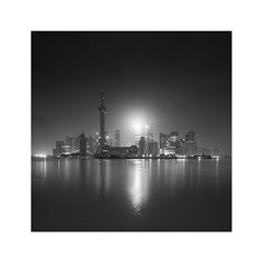 * Shanghai * (^soulfly) Tags: longexposure night cityscape china pudong shanghai thebund canon5dm2 ef1740mm