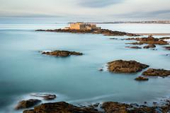 Fort National, Saint-Malo (Christophe A.) Tags: saintmalo longexposure expositionlongue bretagne nikon d7100 landscape paysage seascape