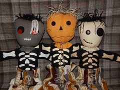 Plan-B Boys Phase 2 (Morganthorn) Tags: planb boys skeleton ragdoll group kpop cute adorable fun silly halloween scarecrow vampire voodoo ghost