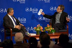 Kishore Mahbubani and Ian Bremmer at Asia Society New York 1