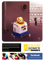 DRAW HOMER (*jocam*) Tags: usa art digital colombia paint arte pop wacom simpson homero surrealismo jocam camilopalacio