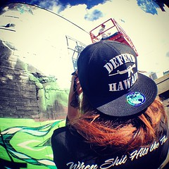 "#defendhawaii #powwowhawaii photographer @honeybunch • <a style=""font-size:0.8em;"" href=""http://www.flickr.com/photos/89357024@N05/8473716689/"" target=""_blank"">View on Flickr</a>"