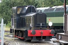 20120901 015 ELR Castlecroft Yard. BR Class 01 D2956 0-4-0DM, Built 1956 Andrew Barclay, Works No 397. Former BR Number 11506 (15038) Tags: bury br trains railways elr britishrail 397 eastlancashirerailway 11506 class01 andrewbarclay d2956 040dm castlecroftyard
