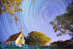 Startrails - Church (NZ Exposed Photography by Chris Helliwell) Tags: earthandspace peopleandspace bestnewcomer competition:astrophoto=2013