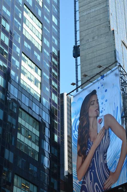 nyc newyorkcity manhattan billboard timessquare pepsi dietpepsi sofiavergara 2013 february2013