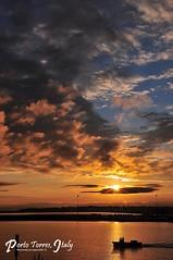Sunrise (Rhannel Alaba) Tags: italy sunrise nikon terminal porto bow torres d90 alaba rhannel bracaria