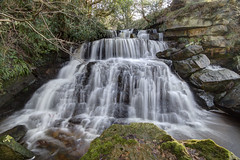 Blea Hill Beck Waterfall...IMG_8650.jpg (Katybun of Beverley) Tags: uk longexposure landscape waterfall moss rocks yorkshire boulders hdr yorkshiremoors maybeck maybeckwaterfall
