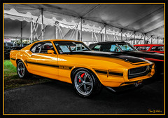 1970 Ford Mustang Resto Mod (Wilder PhotoArt) Tags: auto ford yellow canon mustang fordmustang automobiles carshows fmc americaamerica mecum canoneos5dmarkii mecumautoauction mecumkissimmee mecumautoauctionkissimmee