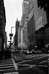 New York (louise.monk) Tags: street blackandwhite white newyork black cars buildings documentary taxis tall bla louisemonk