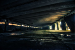Breaking into a military base at night (inhiu) Tags: light building abandoned night nikon long exposure break sofia decay military low bulgaria base d800 inhiu