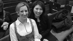Laura Hynes and Grace Choi