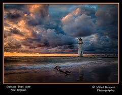Dramatic Skies Over New Brighton (Steve Rowell Photography 50,000+ views. Thank you ) Tags: uk sunset england lighthouse seascape water skyline landscape coast waterfront northwest unitedkingdom shoreline hdr newbrighton merseyside stormyskies newbrightonlighthouse photographyforrecreationeliteclub eos1100 rememberthatmomentlevel4 rememberthatmomentlevel1 rememberthatmomentlevel2 rememberthatmomentlevel3 rememberthatmomentlevel5 vigilantphotographersunite vpu2 vpu3 vpu4 vpu5 vpu6 vpu7 vpu8 vpu9 vpu10