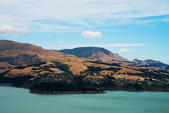 View from Porter Heights near Sumner (Haddadios) Tags: from above new christchurch lake mountains landscape nikon view tripod 85mm hills zealand nz f2 nikkor heights porter sumner d800