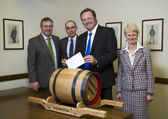 "Stephen Mosley MP delivers 'Message in a Barrel' to freeze Beer Duty • <a style=""font-size:0.8em;"" href=""http://www.flickr.com/photos/51035458@N07/8514978487/"" target=""_blank"">View on Flickr</a>"